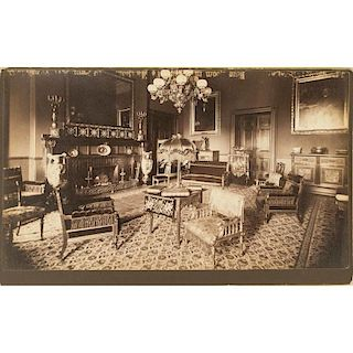 Herter Brothers Interior Photograph of the White House