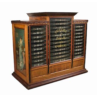 Eureka Silk and Twist Spool Cabinet