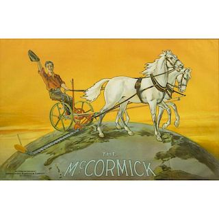 """""""The McCormick"""" Tractor Advertisement"""