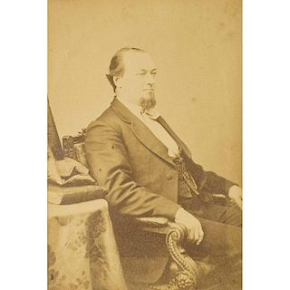 Secretary of War George W. McCrary Cabinet Card, Brady Studios