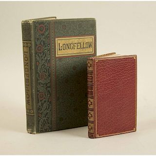 Henry Wadsworth Longfellow (1807-1882) Handwritten Letter and Two Books