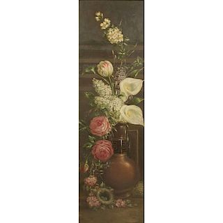 C.H. Witherell (19th c) Still Life Painting