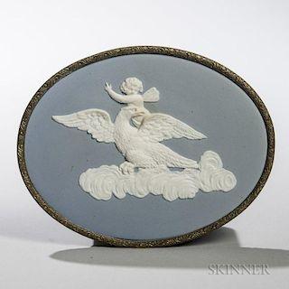 Turner Solid Blue Jasper Medallion