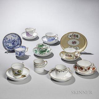 Ten Wedgwood Bone China Tea Ware Items