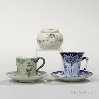 Three Moorcroft Pottery Items