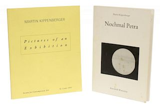 MARTIN KIPPENBERGER, ILLUSTRATED ART BOOKLETS