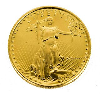 U.S. $10 DOLLAR GOLD EAGLE BULLION COIN