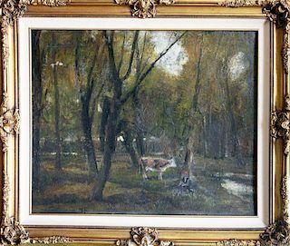 Burghardt-Zsombolya Rezsî,, Hungary (1884-1963),