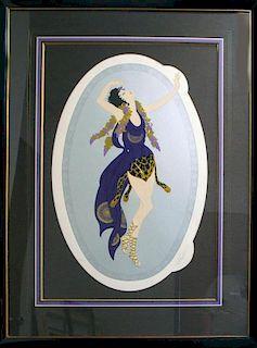 Erte (Romain D' Tirtoff), Russian/French 1892-1990,
