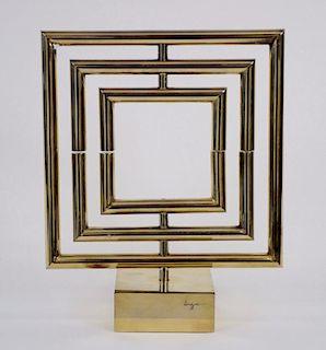 Yaacov Agam (Israeli, 1928 - ) Kinetic Sculpture