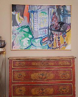 Muriel D. Wolfson Fauvist Impressionist California Paris
