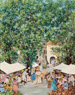 Agnes Tait | Market Day
