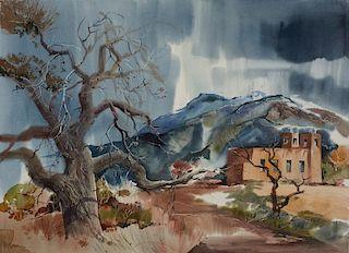 Laurence Philip Sisson | Iglesia Sagrado Corazón de Jesús, Nambe, New Mexico
