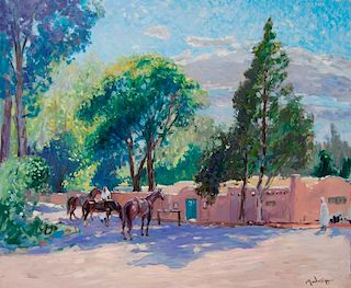 John Modesitt | Taos in Summer