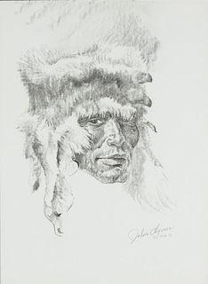 John Clymer | Fox Hat