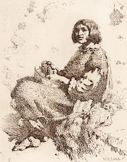 William Robinson Leigh | Zuni Girl