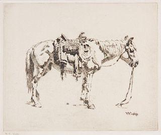 William Robinson Leigh | Saddled Horse