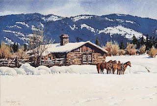 James Boren | Colorado Snow Scene