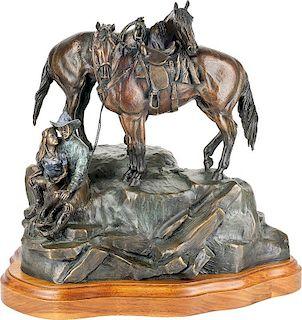 JC Dye | Two Horses