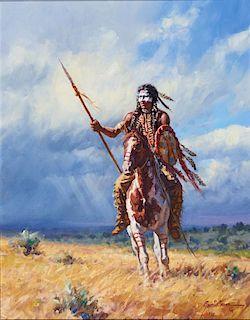 Martin Grelle | Warrior Alone