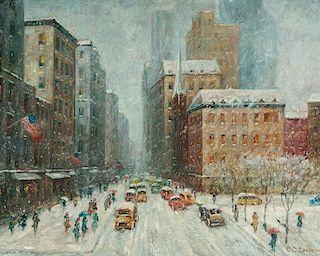 Colin Campbell Cooper | New York Winter Scene