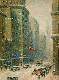 Colin Campbell Cooper | Winter Cityscape