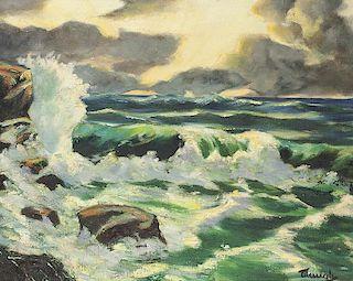 Frederic Waugh | The Crashing Wave