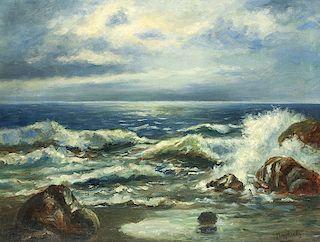 Paul Dougherty | Moonlit Coast