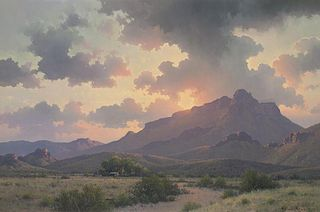 Michael Stack | Morning Sky Over Cazador