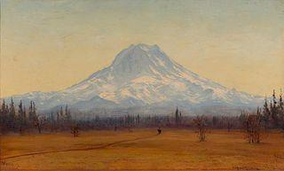 James Everett Stuart | Morning, Mt. Tacoma, 10 Miles South of Tacoma City, Washington