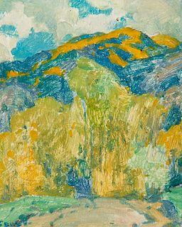 Eanger Irving Couse | Aspen Covered Peaks