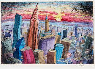 Kim Douglas Wiggins | The Chrysler at Sunset