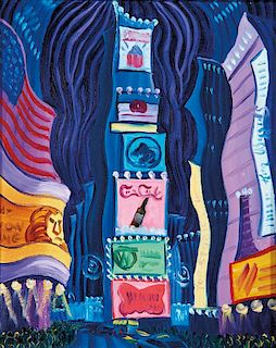 Kim Douglas Wiggins | The Lights of Times Square