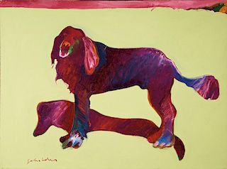 Fritz Scholder | Laughing Dog After Traube
