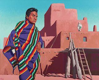 Carlos Hall | Roy Bernal of Taos Pueblo