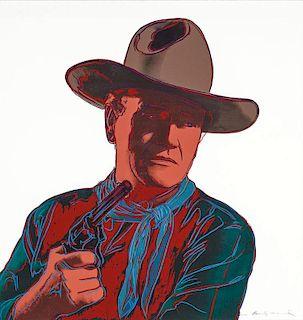 Andy Warhol | Cowboys and Indians: John Wayne 150/250