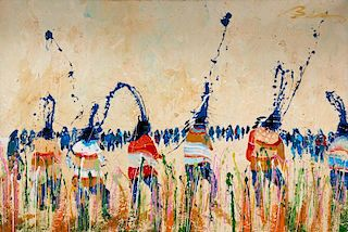 Earl Biss | Twilight of Grass Dance