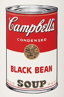 Andy Warhol | Campbell's Soup 1: Black Bean