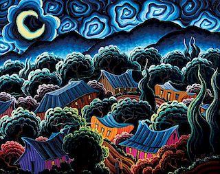 Kim Douglas Wiggins | Beneath the Waning Moon