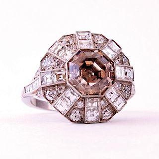 Unknown | Diamond Octagon Ring