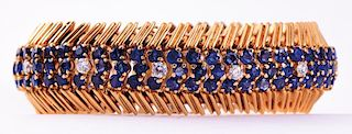 Tiffany & Co.  | Sapphire & Diamond Bracelet