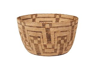 Pima | Basket with Geometric Design