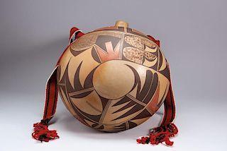 Nyla Sahmia Nampeyo | Hopi/Tewa: Large Canteen