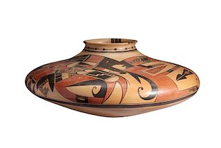Nyla Sahmia Nampeyo | Hopi/Tewa: Red and Black Jar