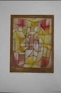 (3) Paul Klee Prints