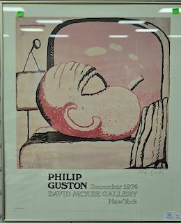 Philip Guston (1913-1980), poster, pencil signed lower right Philip Guston, Philip Guston December 1974, David McKee Gallery