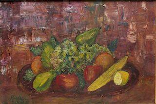 Signed Marsden Hartley- Still Life Oil on Canvas