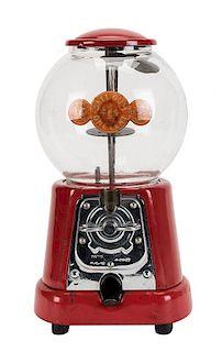 Advance Machine Company 1 Cent Model D Gumball Vendor.