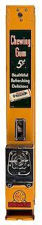 Advance Machine Co. 5 Cent Wrigley Unit-C Gum Vendor.