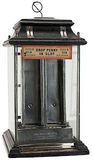 Automatic Sales Co. 1 Cent Pepsin Tab Gum Vendor.